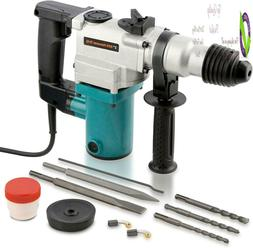 """Hiltex 10504 1"""" Electric Rotary Hammer Drill, 4.7 Amp   Incl"""