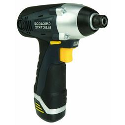 12 Volt 1/4 in Lithium-Ion Cordless Hex Impact Driver Drywal