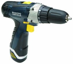 CHICAGO ELECTRIC 12 Volt 3/8 In. Lithium-Ion Cordless Variab
