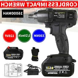 128V Electric Cordless Impact Wrench Torque Drill Equipment
