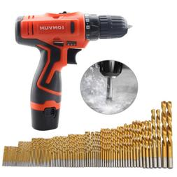 12V 2-Speed Screwdriver Cordless Power Tools Screw Electric