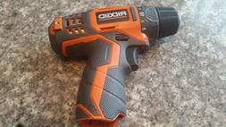 "12v Ridgid 3/8"" Drill Driver 12 volt Model R82005 New!!!"