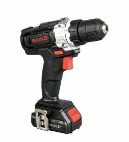 "12V Cordless 3/8"" Cordless Drill 700 RPM Keyless Clutch 1.5A"