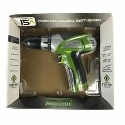 Worksite 12V Cordless Compact Drill Green New 241 0234