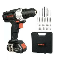 12V Cordless Drill with 1.5Ah Lithium-ion Battery and Charge
