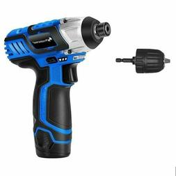 PROSTORMER 12V Lithium-Ion Cordless Drill Driver Set Max Tor