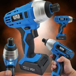 12V Max Brushed Powerful Cordless Impact Drill Driver Tool L