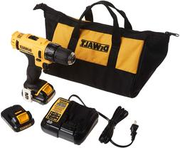 DEWALT 12V MAX Cordless Drill / Driver Kit, 3/8-Inch