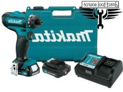 "Makita 12V Max CXT Li-Ion Cordless 1/4"" Hex Driver-Drill Kit"