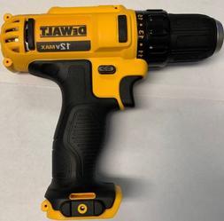 "Dewalt 12v Max DCD710 3/8"" Cordless Drill/Driver Tool Only"