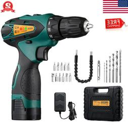14.4V Cordless Electric Drill Power Tools w/ Screwdriver Bit