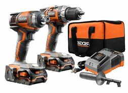 18-Volt X4 Lithium-Ion Cordless Drill/Driver and Impact Driv