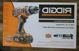 RIDGID 18-Volt Cordless 2-Speed 1/2 in. Compact Drill/Driver