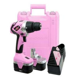 18V Cordless Drill Driver Set For Women With Tool Case Charg