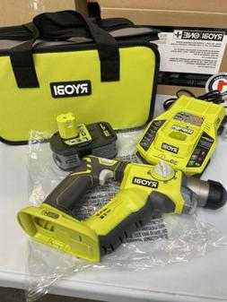 Ryobi 18-Volt ONE+ 1/2 in. Rotary Hammer Drill Kit with Lith