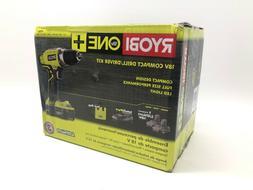 Ryobi 18-Volt ONE+ Lithium Cordless 1/2in Compact Drill Driv