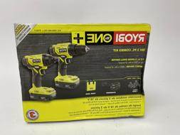 Ryobi 18-Volt ONE+ Lithium Ion Cordless Drill/Impact Driver