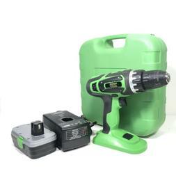 Kawasaki 18 Volt Power Drill Driver Tool W/ Battery Charger