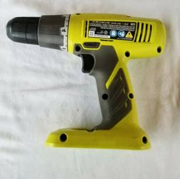 RYOBI 18v Cordless Drill Driver Model# P209