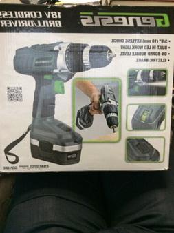 Genesis 18v Cordless Drill/driver