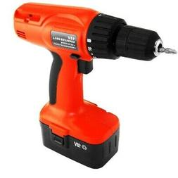 Hiltex 10540 18V Cordless Drill with Blow Mold Case
