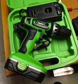 Kawasaki 18V Drill, battery,  Charger, case  Set Pre-Owned