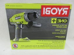 RYOBI 18V ONE+ 1/2 in Hammer Drill Driver Cordless Drilling