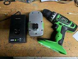 """Kawasaki 19.2V #691761 3/8"""" Cordless Drill w/#691762 Battery"""