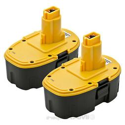 2 NEW 18V Battery for DEWALT DC9096 DE9096 DW9096 18 Volt Co