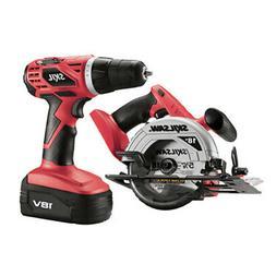 SKIL 2860-10 NEW 18 Volt  2-Tool Cordless Drill & 18V Circul