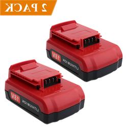 2-Pack for Porter Cable 18V PC18B PC18BL PC18BLX 18V 2000mAh