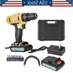 2 speed 25v cordless hand tooi drill
