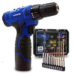 "ACDelco  2-Speed 3/8"" Drill Driver Kit  12V  Cordless ARD1"