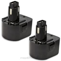 2 x 12V Ni-Cd PS130 Battery for Black & Decker, Firestorm 12