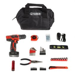 20V Cordless Drill Set Tool Bag Travel Portable Car Trunk Ga