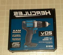 20V Lithium Cordless 1/2 In. Compact Hammer Drill/Driver - T