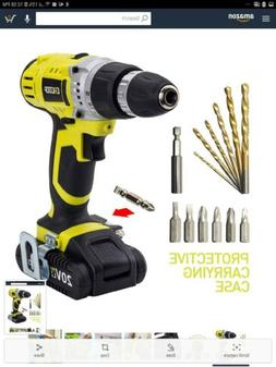CACOOP 20v Lithium Drill  ccd20001lbb