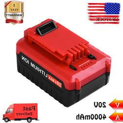 For Porter Cable 20v Max 4.0Ah Lithium-ion replacement batte