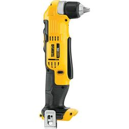 DEWALT 20V MAX Li-Ion 3/8 in. Right Angle Drill Driver  DCD7