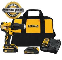 DEWALT 20V Max Lithium-Ion Brushless Compact Drill Driver DC