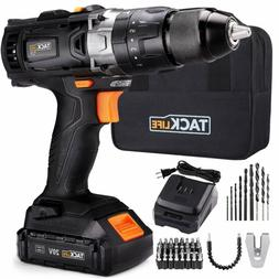 20V Max Lithium-Ion Electric Cordless Drill Driver Wireless