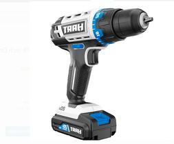 "Hart 20v System 3/8"" Drill/ Driver Kit HPDD50B. New."