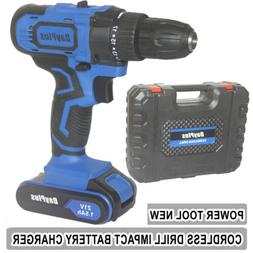 21V Cordless Drill 1500mAh Spare Battery Li-Ion Fast Charg 2