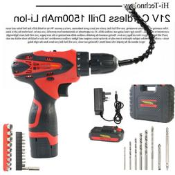 21V LITHIUM ION CORDLESS DRILL DRIVER SCREWDRIVER COMBI IN C