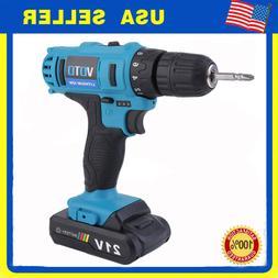 "21V MAX Lithium-Ion Cordless Hammer Driver/Drill 1/4"" Hex Ha"