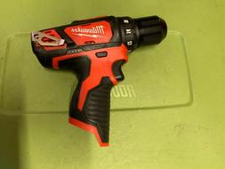 "Milwaukee 2407-20 12V 3/8""  Cordless Drill Driver - tool onl"
