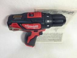 "Milwaukee 2407-20 M12 3/8"" Drill Driver Bare Tool"
