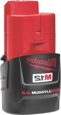 Milwaukee  48-11-2420 M12 REDLITHIUM 2.0 Compact Battery Pac