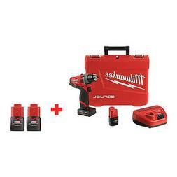 Milwaukee 2503-22, 48-11-2411 Cordless Drill/Driver Kit, W/B