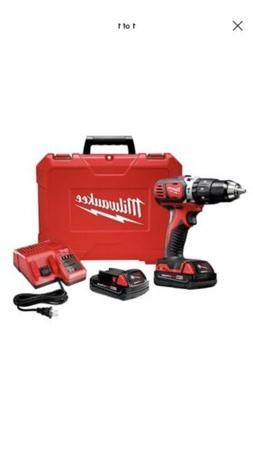 "Milwaukee 2606-22CT M18 1/2"" Cordless Drill Driver Kit Brand"